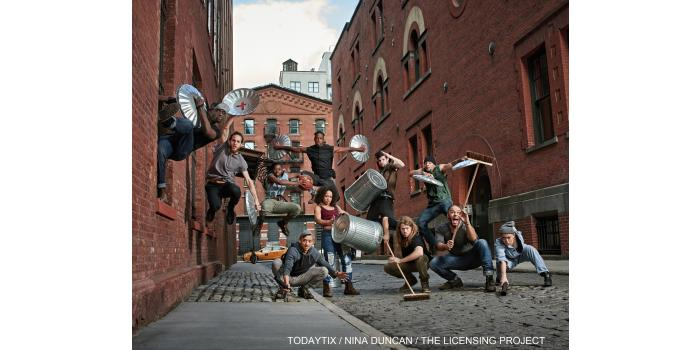 STOMP - Friday, April 17 at 8:00 pm