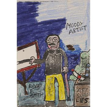Moody Artist by Robert E. Smith