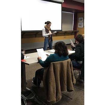 English classes, organized by Partners Community Services, helping improve the english skills of local residents, provide guidance in understanding American culture and learn about different job opportunites.
