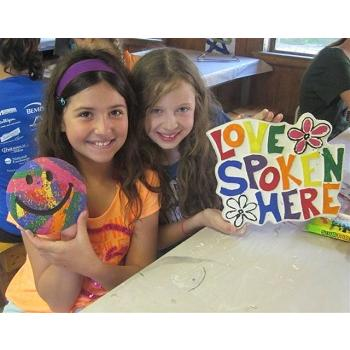 Camp Anokijig Arts & Crafts Program