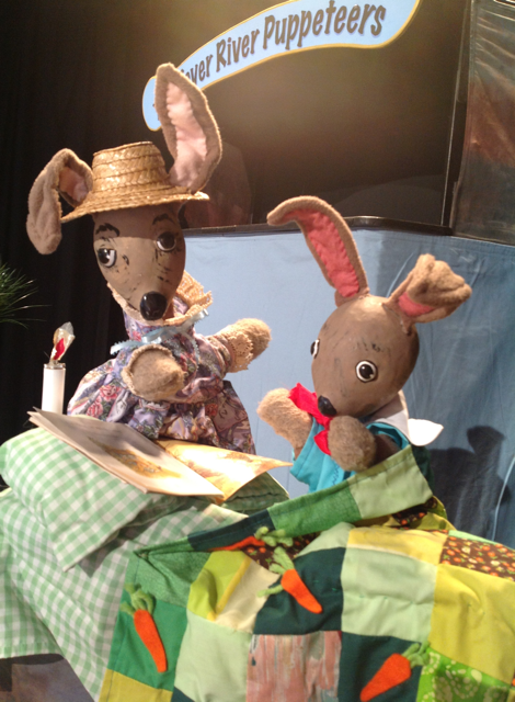 """The Tale of Bunny Cotton-Tail"" Puppet Show at Waelderhaus on April 7"