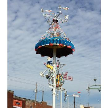 Vollis Simpson Whirligig Park, photograph courtesy of Juan Logan